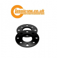 4x100 Wheel Spacers 5mm Black